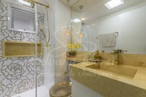 Obra Aclimação - Banho Suíte Casal